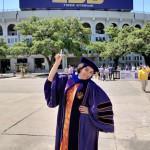 Anuja's Graduation