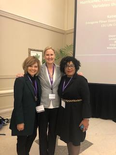 Dr. Sandra Brown, Dr. Amy Copeland, and Dr. Wanda Spurlock