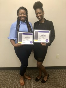Chynna and Morgan with their PDSI awards